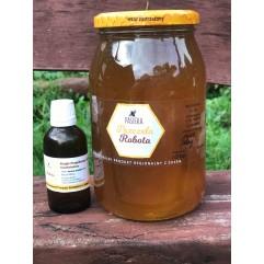 Miód leśny plus ekstrakt propolisowy zestaw