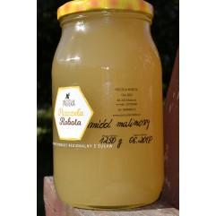 Miód Malinowy , z leśnych malin, Super smak Główna